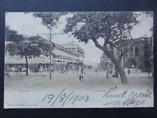 More details for sri lanka / ceylon colombo york street c1903 ub postcard by a.w.a. plate & co.