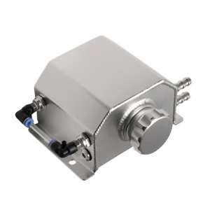 Universal Aluminum Alloy Coolant Radiator Overflow Recovery 1L Oil Tank Bottle