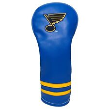 ST. LOUIS BLUES Vintage Throwback Driver Headcover Form Fit   NHL LICENSED