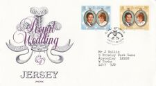 Jersey 1981 Royal Wedding  FDC with enclosure VGC