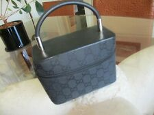 GUCCI Vintage GG Logo Cosmetic Bag Toiletries Travel Case