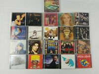 Lot of 20 CDs Pop Artists (CC-267) Jack Johnson John Legend MTV Party Nsync etc.