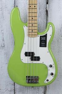 Fender® FSR Player Precision Bass Electric Bass Guitar Limited Electron Green