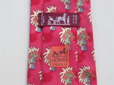Hermès Cravatta - 7433 ha-Palma-molto bene/come nuovo