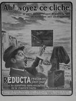 PUBLICITÉ PRESSE 1914 RÉDUCTA RÉALISE EN PLEIN JOUR RÉVOLUTION EN PHOTOGRAPHIE