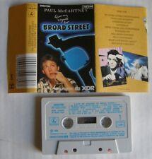 PAUL McCARTNEY (K7 AUDIO) GIVE MY REGARDS TO BROAD STREET