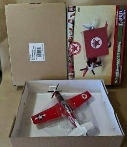 TEXACO VICTORY SERIES #1 1945 NORTH AMERICAN P-51D MUSTANG AIRPLANE REGULAR 2018