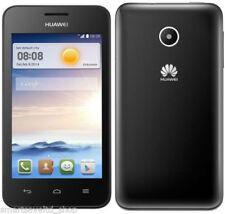 Teléfonos móviles libres negro Huawei de doble núcleo