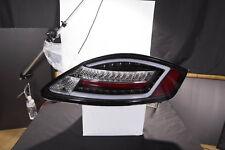 BLACK LED LIGHTBAR REAR LIGHTS PORSCHE BOXSTER 987 2004-2008 & CAYMAN 2006-2009
