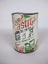 Castrol GTX High Performance Motor Oil 20W/50 Cardboard Can Vintage Unopened