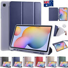 For Samsung Galaxy Tab S6 Lite P610 Shockproof Smart Case Cover With Pen Holder
