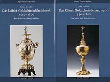 Fachbuch Kölner Goldschmiede 1550 - 1800 2 Bände STATT 96 Euro NEU und OVP