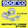 SPARCO WHEEL SPACERS KIT - 2 x 20mm - WITH BOLTS MINI R55 CLUBMAN  4x100 - 56 CB