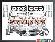 Fit 06-11 GM 3500 3900 V6 Cylinder Head Gasket Set w/ Bolts OHV engine motor kit