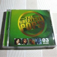 The Greatest Pops Vol.3 KOREA CD Elton John,  Michael Jackson, 10 cc... #P04