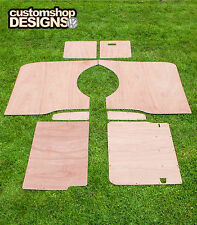 VW 16 Transporter LWB Camper / giorno Van pannelli interni 3,6 mm Ply Fodera Trim KIT
