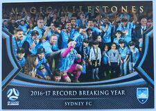 2017/18 FFA A-League Trading Cards - Sydney FC (Magic Milestones MM-08)