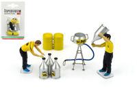 Figura Set Gasolina 2 Mecánica + Accesorios 1:43 F090 BRUMM