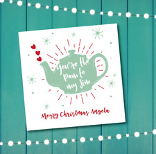 Christmas card - The Office - Pam to my Jim - personalised - boyfriend husband