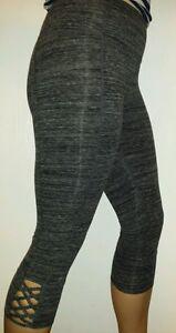 NEW Calvin Klein Performance Lattice High Waist Capri Leggings Size Small $49