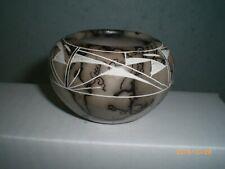 Horsehair Pottery, American Indian, Navajo Pot                          hhp10 gv