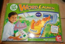 Leap Frog Word Launch Learn to Read Age 4+ Educational Toy Complete