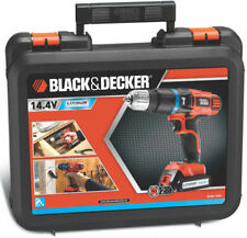 BLACK + BECKER 2 GEAR Cordless HAMMER Drill EGBL148K 14.4V Lithium-ION + KITBOX