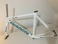 Bianchi Super Pista Frame 2015 130th Anniversary 53cm Fixie Track Alu/Carbon NOS