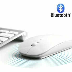 Wireless Bluetooth Mice Mouse For PC Notebook Computer MacBook Pro Air iPad Slim