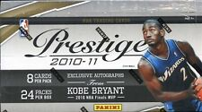 2010-11 Prestige Basketball U PICK CARDS~James Harden~Kevin Garnett