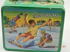 1977 Aladdin THE SKATEBOARDER Metal Lunchbox