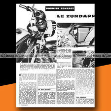 ★ ZUNDAPP KS 50 Water Cooled ★ 1974 Article de Presse Moto #b178