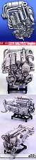 1/12 MFH HIRO LANCIA 037 ENGINE MODEL STAND ALONE fo TAMIYA DOYUSHA OTAKI PROTAR