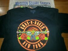Official Guns N Roses Msg Nyc Concert T Shirt Size Lg Large 10/11/17 no duff axl