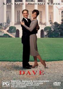 Dave DVD New and Sealed Australia Australian Release
