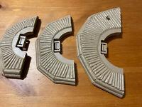 Vintage Ewok Village Playset Platform Pieces Original Star Wars Parts LOT of 3