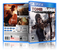 Tomb Raider: Definitive Edition - ReplacementPS4 Cover and Case. NO GAME!!