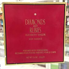 ELIZABETH TAYLOR DIAMONDS AND RUBIES PERFUMED BODY POWDER (REFILL!!) 5.3 OZ