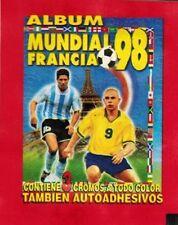 Peru 1998 Navarrete World Cup France Fifa sticker Pack