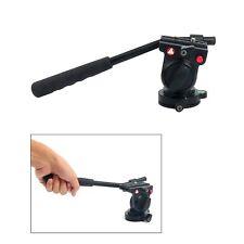 Fluid Head Hydraulic Damping Video Camera Tripod Head For DSLR Tripod Monopod