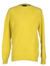 NEW Howlin' By Morrison Men's Yellow Birth Of The Cool Wool Sweater Size Small