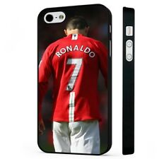 Ronaldo Manchester United Portugal BLACK PHONE CASE COVER fits iPHONE