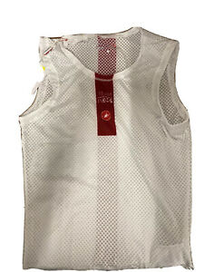 Castelli Pro issue Mesh Undervest Base Layer Sleeveless  Cycling Large BNWT