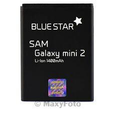 BATTERIA ORIGINALE BLUE STAR 1400mAh LITIO PER SAMSUNG GALAXY MINI 2 S6500