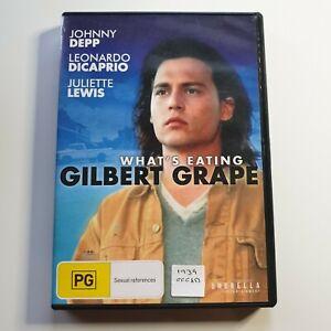 What's Eating Gilbert Grape   DVD Movie   Johnny Depp, Leonardo DiCaprio  1993