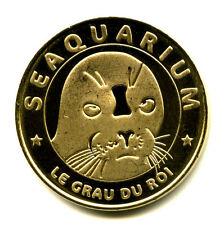 30 LE GRAU-DU-ROI Seaquarium, Phoque, 2014, Monnaie de Paris