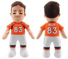 NWT NFL Denver Broncos #83 Wes Welker 10-Inch Plush Doll Bleacher Creatures