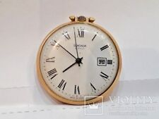 1970's Vintage Russian USSR RAKETA Sekonda Pocket Watch 2614.H  Gold Plated