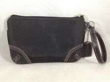 Strivectin Black & Pink Hand Bag Faux Leather Clutch