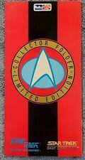 Very Very Rare 1993 Star Trek Hostess Salesman Collector Folder w/ cards Skybox